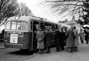 0245-19570116 Amsterdam-  Eerste rit.