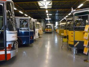 2692-20140719 Hoogezand- NBM museum- overzicht bussen- 1