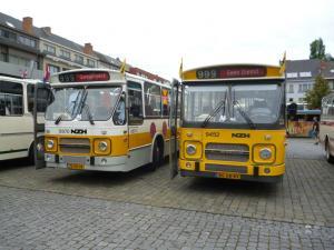 9452-20130825 Belgie- Diepenbeek- marktplein- Materieelshow (met 8970)- 2